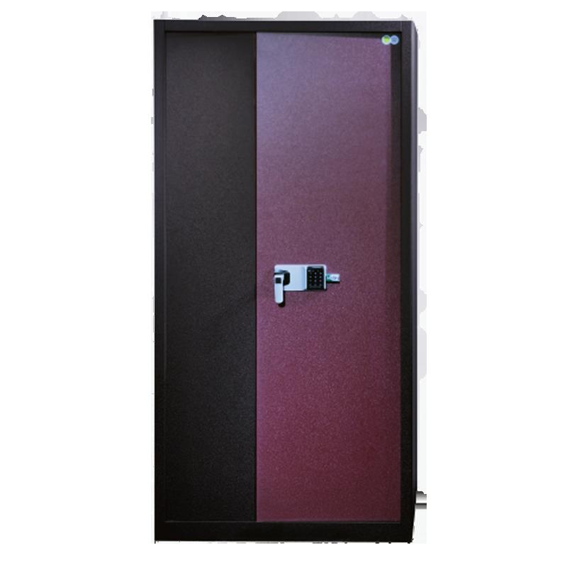 JS-JL-004整体皮纹密码柜