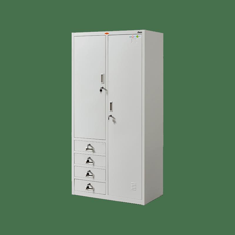 JS-JL-014四屉更衣柜